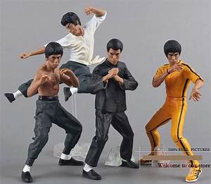 Kung Fu Figuren : 4pcs set cool bruce lee kung fu pvc action figures collection toys baby model toys classic toys ~ Sanjose-hotels-ca.com Haus und Dekorationen