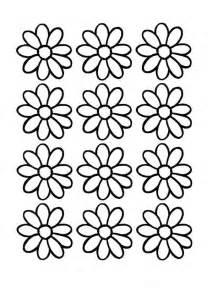 Daisies Flower Coloring Pages
