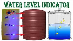 Make Water Level Indicator With Alarm System At Home
