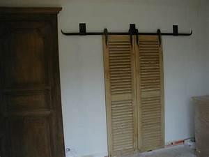 Fabriquer Porte Coulissante Placard : fabriquer un placard avec portes coulissantes ~ Premium-room.com Idées de Décoration