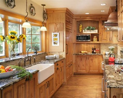 knotty wood kitchen cabinets knotty pine cabinets ideas pictures remodel and decor 6677