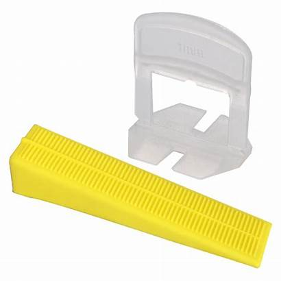 Levelling Spacers Tile Wedge Spacer 1mm Pack