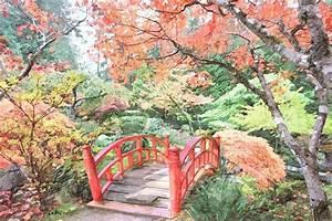 Jardin Dessin Couleur : tableau peinture dessin jardin japonais couleurs d ~ Melissatoandfro.com Idées de Décoration