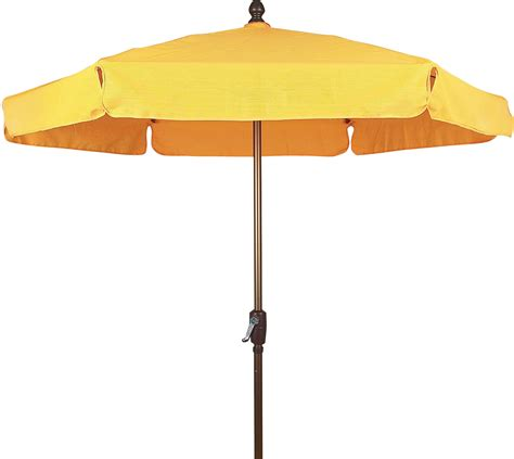 commercial outdoor garden umbrella textilene