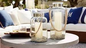 Outdoor Lanterns and Candles for Outdoor Coffee Table
