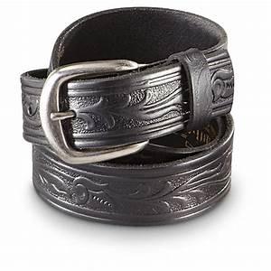Guide Gear 1 5 U0026quot  Western Leather Belt