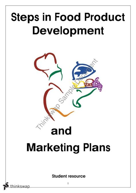 food product development steps  year  hsc food