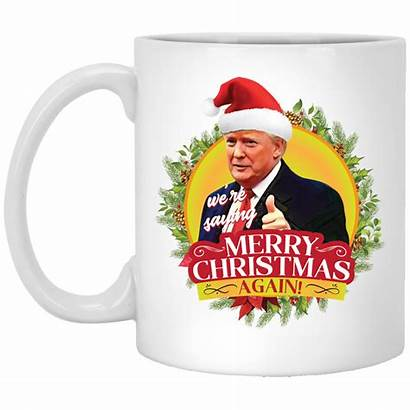 Merry Trump President Mug Saying Again Oz