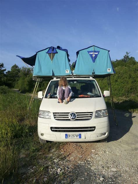 maggiolina tenda vw t5 overc tenda da tetto roof tent maggiolina