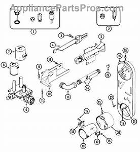 Parts For Maytag Mdg7400aww  Gas Valve Parts