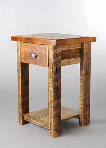 Barnwood, 1, Drawer, Nightstand