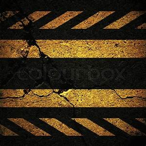 Background with cracked road texture | Stock Photo | Colourbox