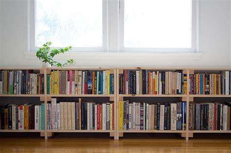 long shelves bookshelves diy  bookcase