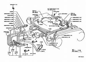 1990 Toyota Pickup V6 Vacuum Diagram