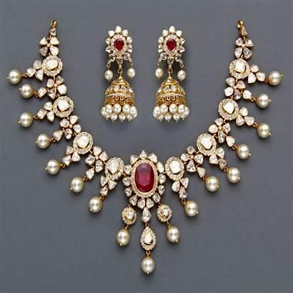 Diamond Necklace Diamonds Jewellery Indian Jewelry Ruby