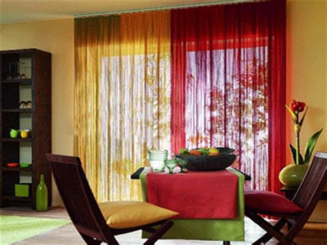 bedroom color schemes pictures rain curtain home decor accents to romanticise modern 14230   rain curtain curtains treatment window orange red