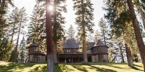 The beach at sugar pine point state park is primarily sand, and is located within the historic zone, near the popular pine lodge mansion. Ed Z'Berg Sugar Pine Point State Park Weddings   Get ...
