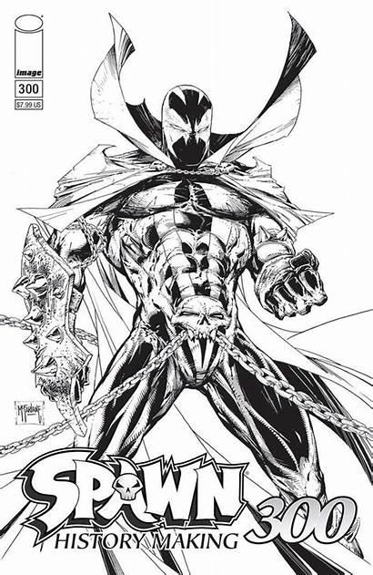 Spawn 300 Mcfarlane Todd Sketch Comics Covers
