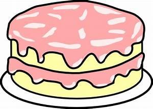 Cake Pink Icing Clip Art at Clker.com - vector clip art ...