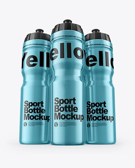All free mockups consist of unique design with smart object layer for easy edit. Metallic Sport Bottle Mockup - Free PSD Mockups