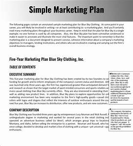Marketing plan template word business letter template for Publicity plan template