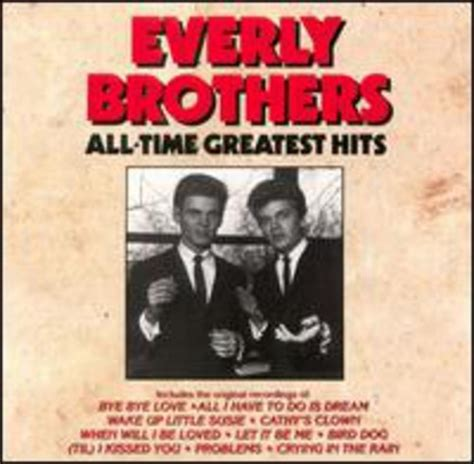 greatest everly hits brothers cd allmusic album discography artist songs browser 1990