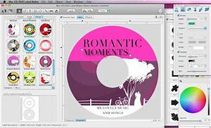 cristallight software mac cd dvd label maker and disc With free online cd cover maker