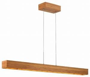 Zen FR46206BAM Solid Wood - LED Linear Chandelier