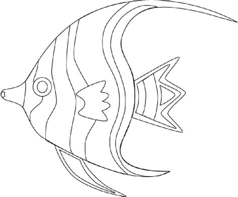 Tropical Fish Coloring Pages by Tropical Fish Coloring Pages Getcoloringpages
