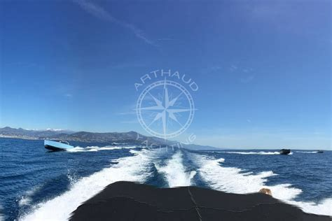 Columbus Speed Boat by Bateau Taxi Speedboat Monaco Cannes Arthaud Yachting