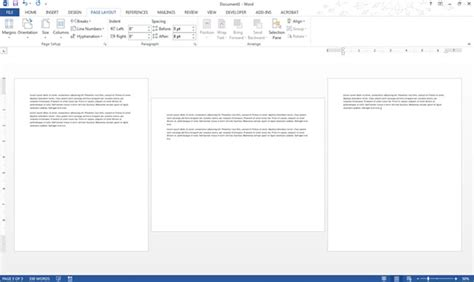 Make Only One Page Landscape In Ms Word And Keep Rest Portrait