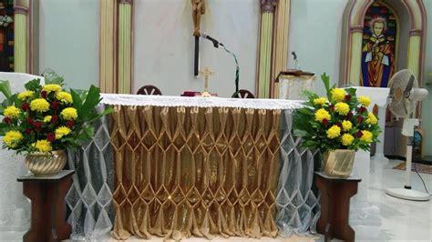 Church Altar Decoration Youtube