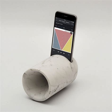marble amplifier  iphone speaker design wooden speakers