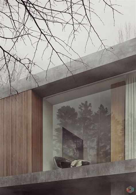 Beton Holz Fassade by 25 Best Concrete Wood Ideas On Concrete Wood