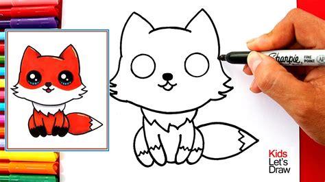 te muestro como dibujar  zorrito bebe facil