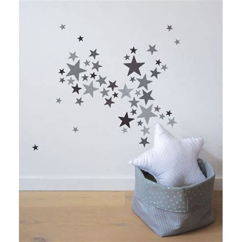 chambre fille etoile lot stickers etoiles trendy gris lilipinso and co au