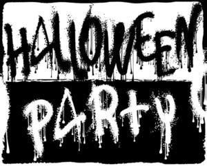 halloween vintage poster template vector royalty