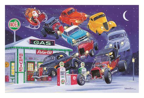 Hot Rod Night Before Christmas