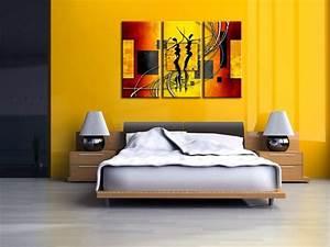 Tableau Triptyque Mural : design d 39 int rieur styl avec le tableau triptyque ~ Teatrodelosmanantiales.com Idées de Décoration