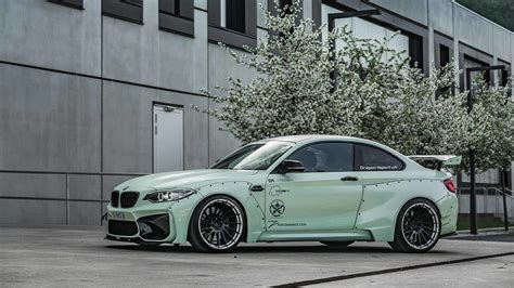 wide bmw m2 from z performance is definitely not for everyone