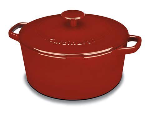 cuisinart enameled cast iron  dutch oven  quart