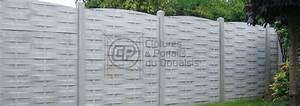 Cloture Beton Imitation Bois : cl ture b ton plaques imitation bois tress cloture du ~ Dailycaller-alerts.com Idées de Décoration