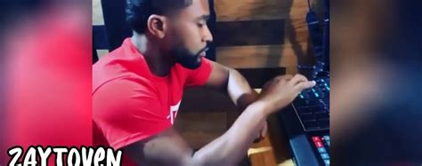 Zaytoven Snippet Behind The Scenes of Making a Beat