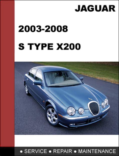free online auto service manuals 2008 jaguar s type electronic valve timing jaguar s type x200 2003 2008 shop service repair manual download