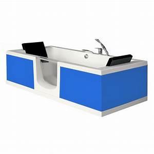 Baignoire Avec Porte Pour Senior : baignoire a porte sur mesure couleur au choix ~ Premium-room.com Idées de Décoration