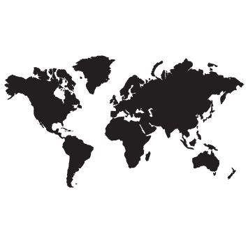 Home 051 Planisferio Arte de mapa mural Planisferio