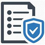 Insurance Icon Document Protection Icons Business Editor