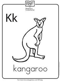 Kids Learn Letter K Coloring Page : Bulk Color in 2020