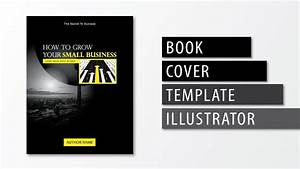 illustrator tutorial book cover template youtube With book cover template illustrator