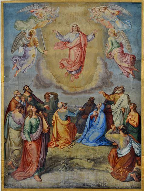 Er findet seinen ursprung in dem gedanken, dass jesu christi in den himmel auffuhr und so wieder mit. Christi Himmelfahrt - Alemannische Wikipedia